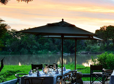 Simbavati River Lodge in the Timbavati