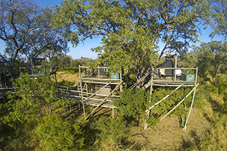 Plains Camp @ Rhino Walking Safaris is located in the Kruger National Park